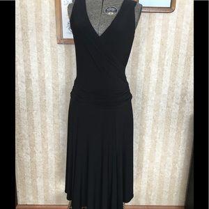 Adrianna Papell drop waist dress.